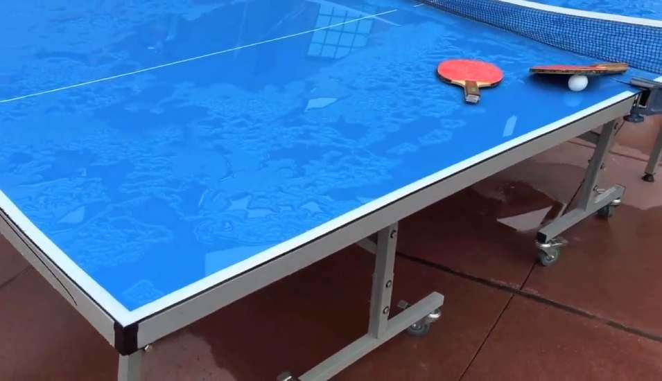 joola outdoor ping pong table