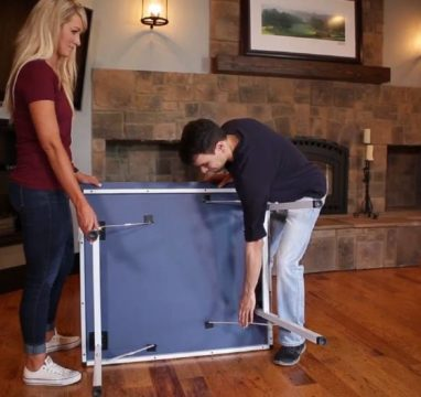 stiga space saver limited size table tennis table