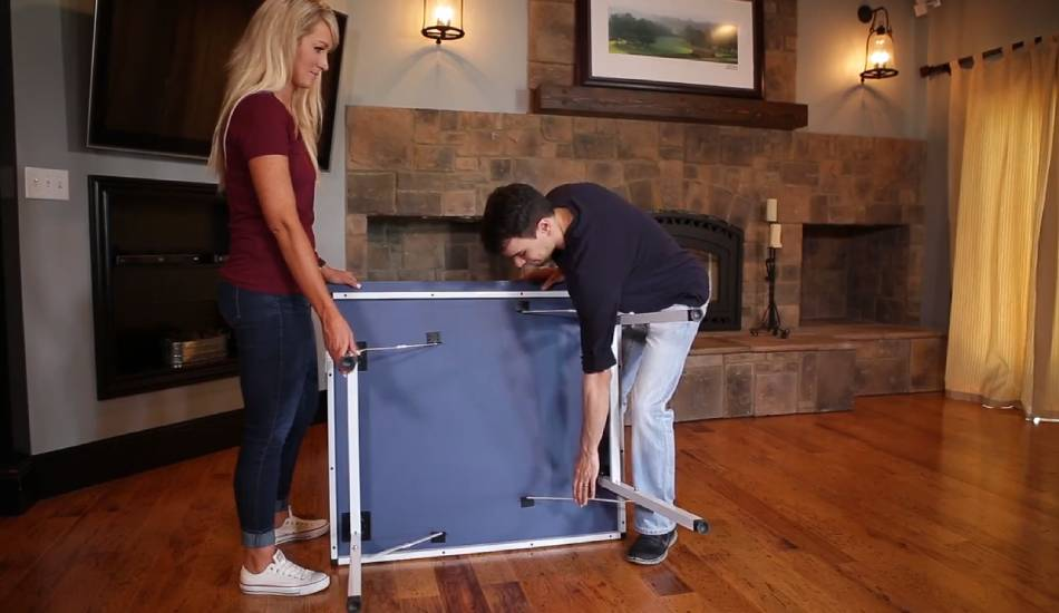 Stiga Space Saver Compact Table Tennis Table Review Mini