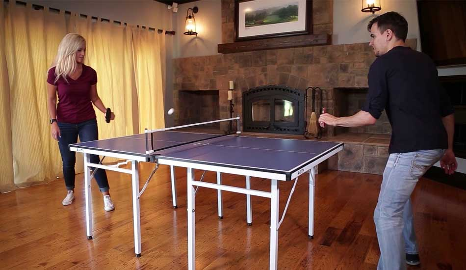 STIGA Table Tennis Table for Limited Space