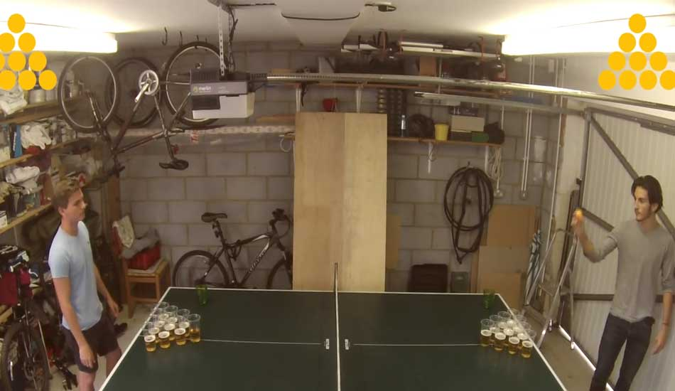 beer pong ping pong game