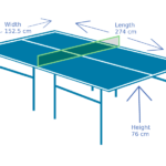 What is the Size of Table Tennis Table? (Ping Pong Table Dimensions)