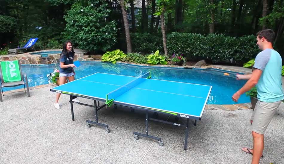 JOOLA Aluminum Table Tennis Table