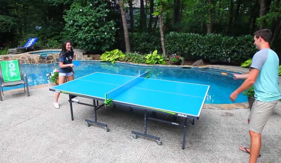 JOOLA Aluminum Table Tennis Table
