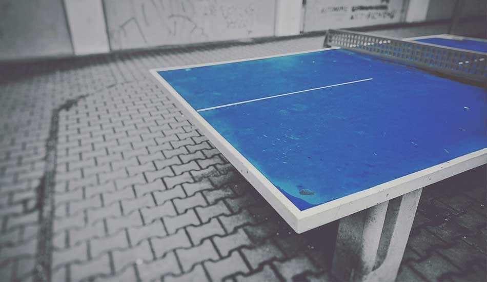 Table tennis tables are made of which material