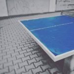 How to Paint a Ping Pong Table