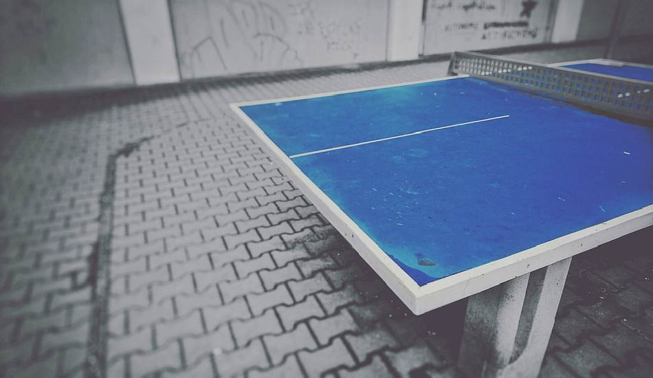 paint ping pong table