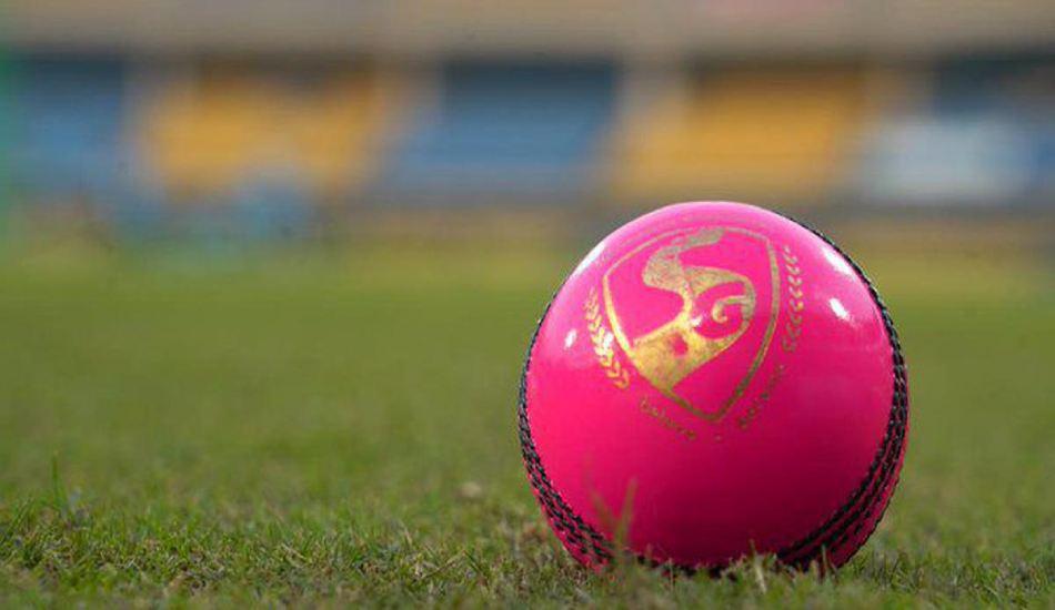 pink cricket ball