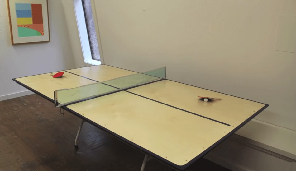 How to make the ping pong table