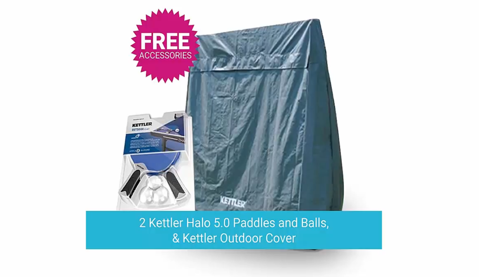 Free Accessories of Kettler Axos 1 Table Tennis Table