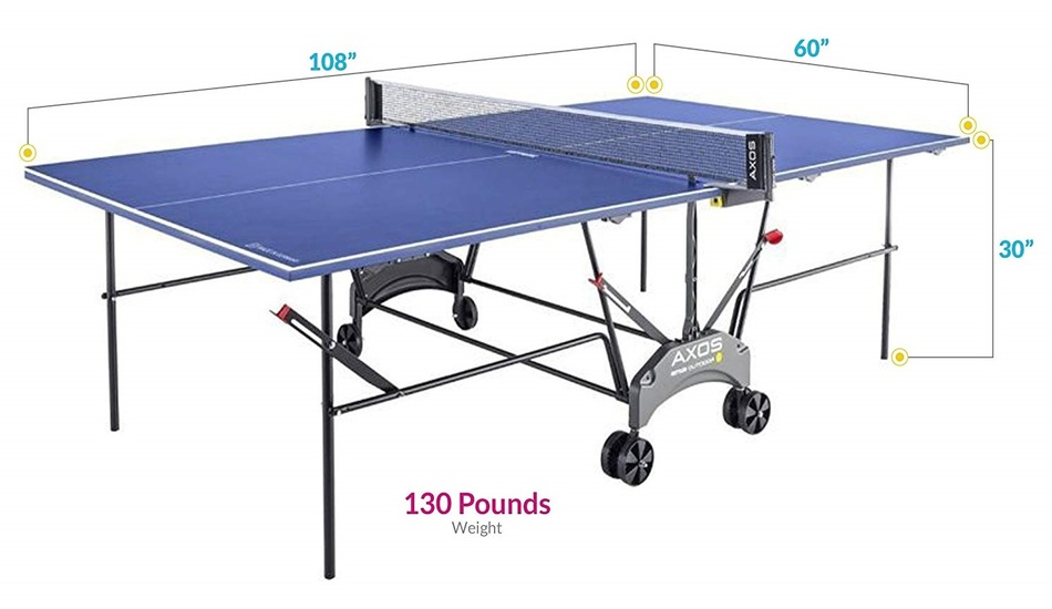 Kettler Axos 1 Outdoor Table Tennis Table Review