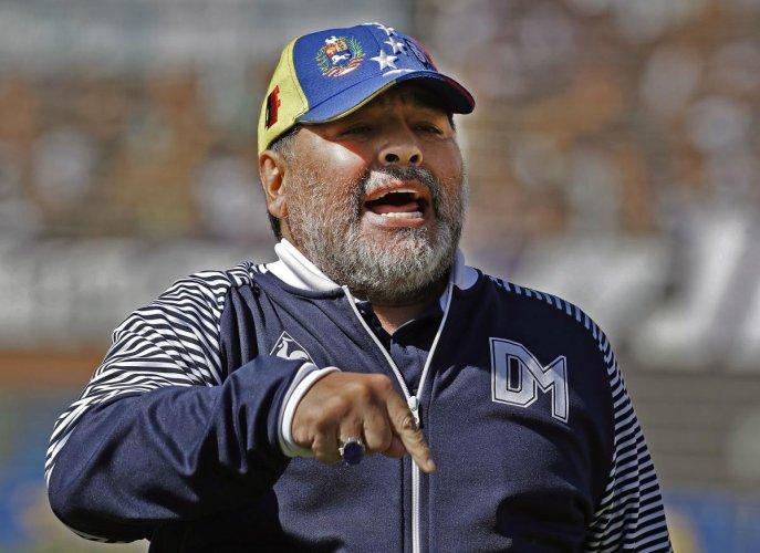 Diego Maradona now