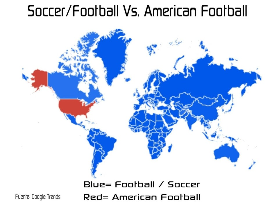 soccer vs football popularity in countries