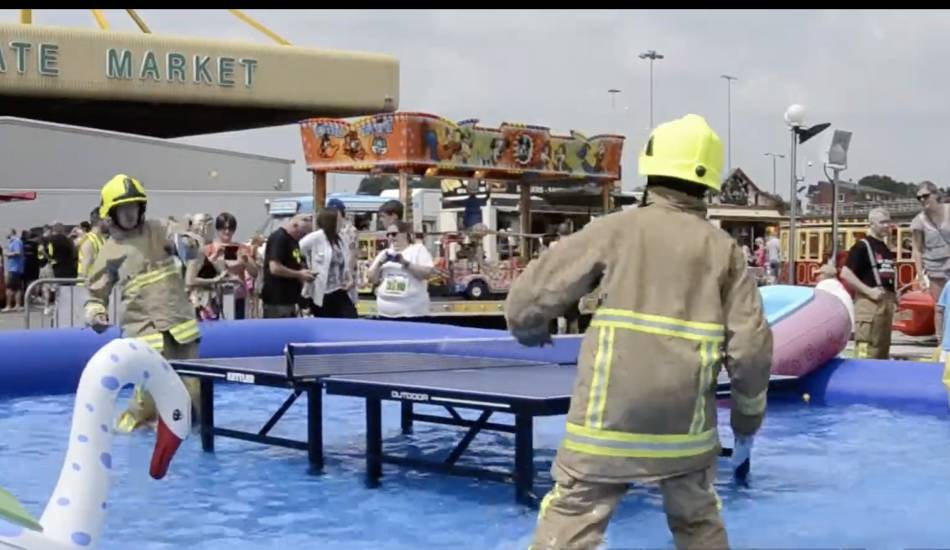 how to waterproof ping pong table